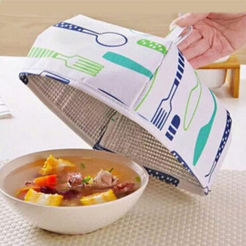 Foldable Insulated Food Cover Aluminum Foil Table Hot Food