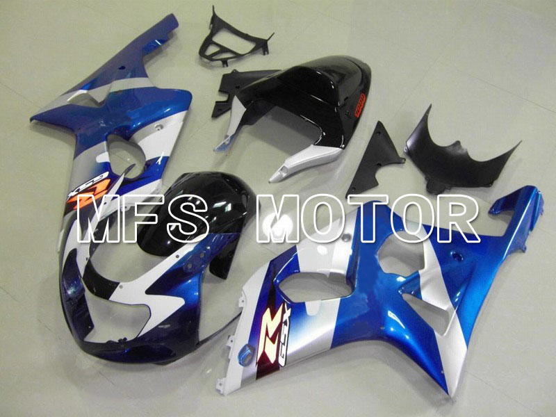 Для Suzuki GSXR 1000 2000 2001 2002 литья ABS Обтекателя комплекты GSX в 1000р 00 01 02 - другие - синий/белый/черный