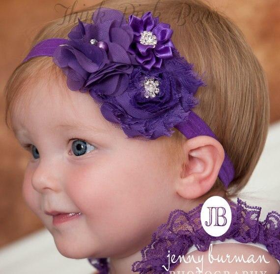 Yenidoğulmuş baş bantlı saç tıxacları - Geyim aksesuarları - Fotoqrafiya 2