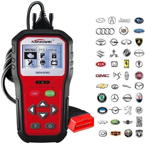 Diagnostic automatique de lumière de moteur de contrôle des véhicules à moteur pour toutes les voitures lecteur de Code de défaut de Diagnostic automatique OBD2 de voiture de Scanner OBD II