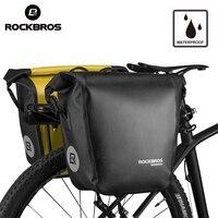 ROCKBROS Bicycle Bag 18L Portable Waterproof Cycling MTB Bike Bag Pannier Rear Rack Seat Trunk Backpack
