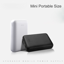 цена на 8000mAh Portable Mini Size External Battery Power bank Double USB Output Phone Charger For Mobile Phone