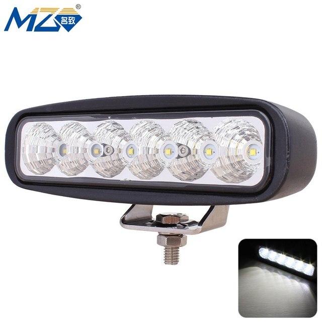 MZ-D-18W-Flood LED Floodlight 60 Degrees Work Light SUV UTV Head Light Fog Light Side Light 30000 Hours Above Life Waterproof