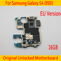16GB For Samsung Galaxy S4 i9505 Motherboard,100% Original unlocked for Galaxy S4 i9505 Mainboard with Full Chips,Free Shipping