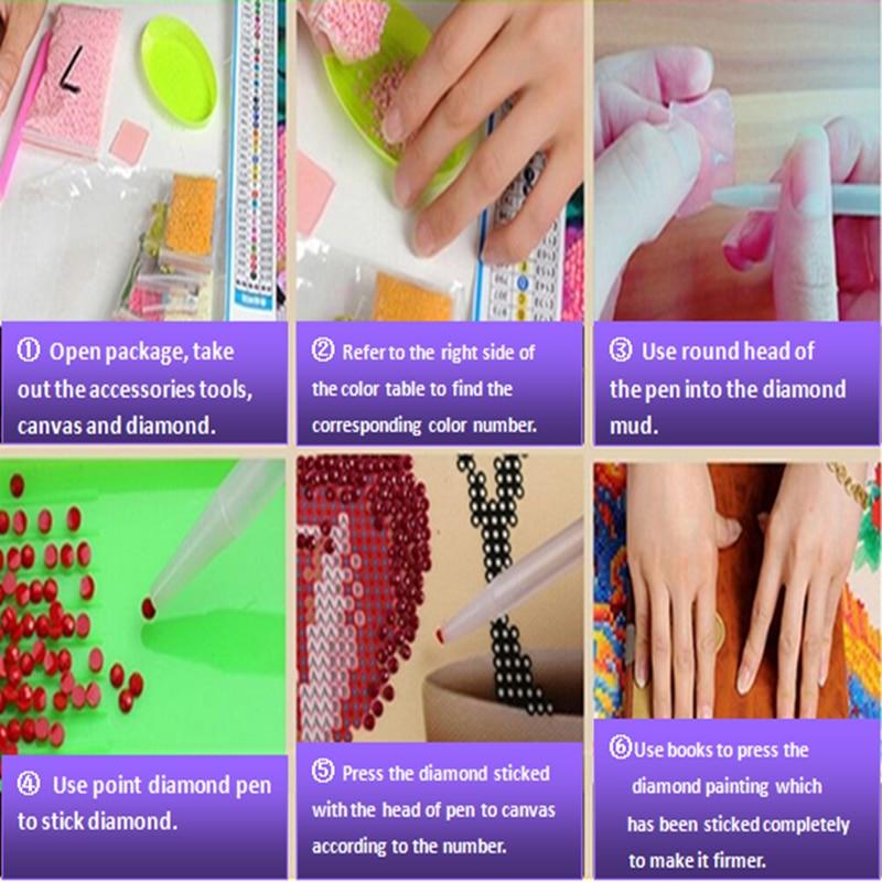 Bordado de diamantes, Encantador, Princesa, Chica, 5D, Especial, En - Artes, artesanía y costura - foto 4