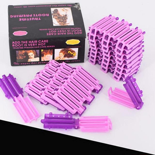 BellyLady 36pcs/bag Hair Clip Wave Perm Rod Bars DIY Roots Preming Fluffy Hairdressing Styling Tool