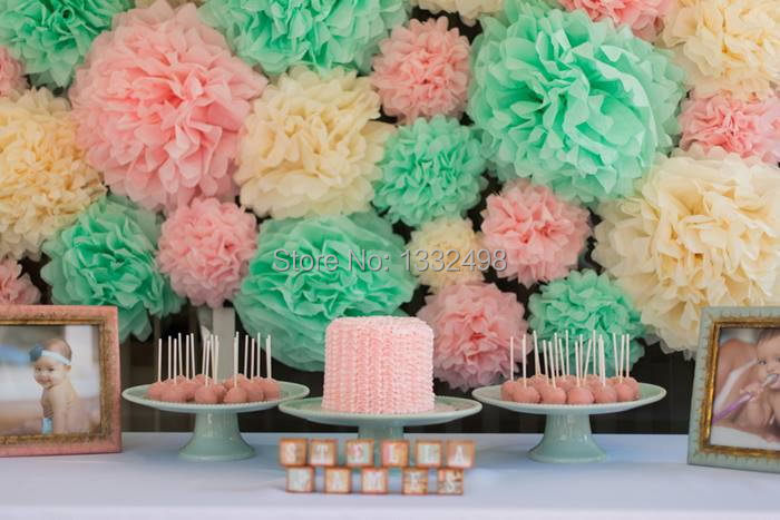 Mix 30 colors 500 pcs tissue paper pom poms ball 12 30 cm paper mix 30 colors 500 pcs tissue paper pom poms ball 12 30 cm paper lantern vintage home wedding decoration birthday party supplies in artificial dried mightylinksfo