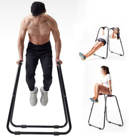 Multipurpose Push Up Bracket Metal Detachable Horizontal Bar Body Building Parallel Bar Muscle Training Fitness Equipment