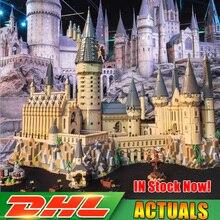 Совместимость Legoing 6742 Лепин 16060 71043 шт. Гарри Magic Potter Хогвартс замок школьный комплект строительные блоки кирпичи игрушка модель