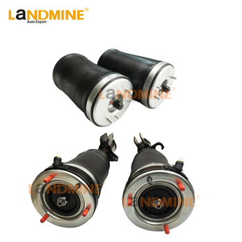 Free Shipping 4PCS New Air Ride Front Air Spring Rear Suspension Spring Bag Fit BMW E53 X5 37116757501(502) 37126750356(355)