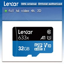Original Lexar Micro SD 128GB 16GB 32GBสูงสุด 95 เมตร/วินาที 64GB Class10 Cartao De Memoria TF Flash Card