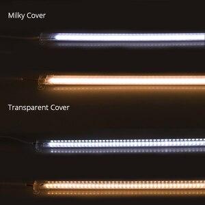 Image 4 - 10PCS/lot AC 220V Led Bar Light 50CM 5730 72Leds Led Rigid Strip Led Tube Lamp Driverless High Brightness Kitchen Cabinet Light