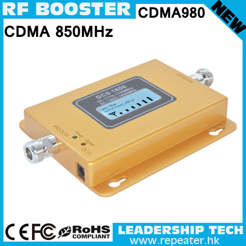 Free Shipping Wholesale RF CDMA800 850MHZ LCD Display 3G Cellular Mobile/cell Phone Signal Repeater Booster Amplifier Detector