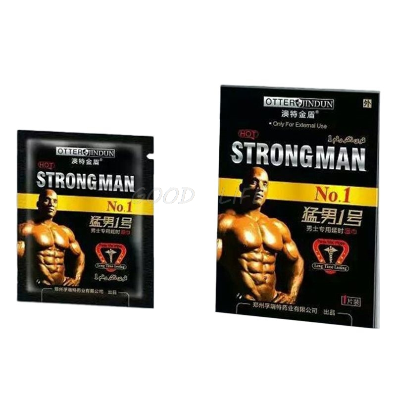 Free Shipping 5Pcs Portable Men Essence Delayed External Use Enlargement Massage Wet Wipe Towel Sexual Adult New