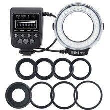 Meike FC 100 Flash/luz de anillo Macro para Nikon D7000 D7100 D5200 D5100 D3200