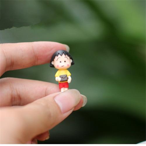4 PCS / Mini indah kimono gadis / peri taman gnome / terraium - Dekorasi rumah - Foto 4