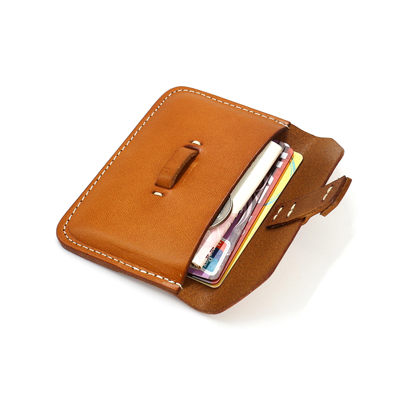 Business Card Holders Brand Designer Genuine Leather Vintage id ...
