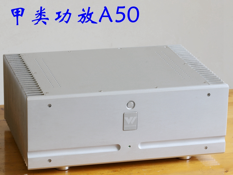 Finished A50 Class A 100W+100W Amplifier MJL4281/MJL4302 HiFi Stereo Power Amplifier 2018 New Listing free shipping czh618f 100c 100w 2u fm stereo radio transmitter exciter power adjustable from 0 to 100w
