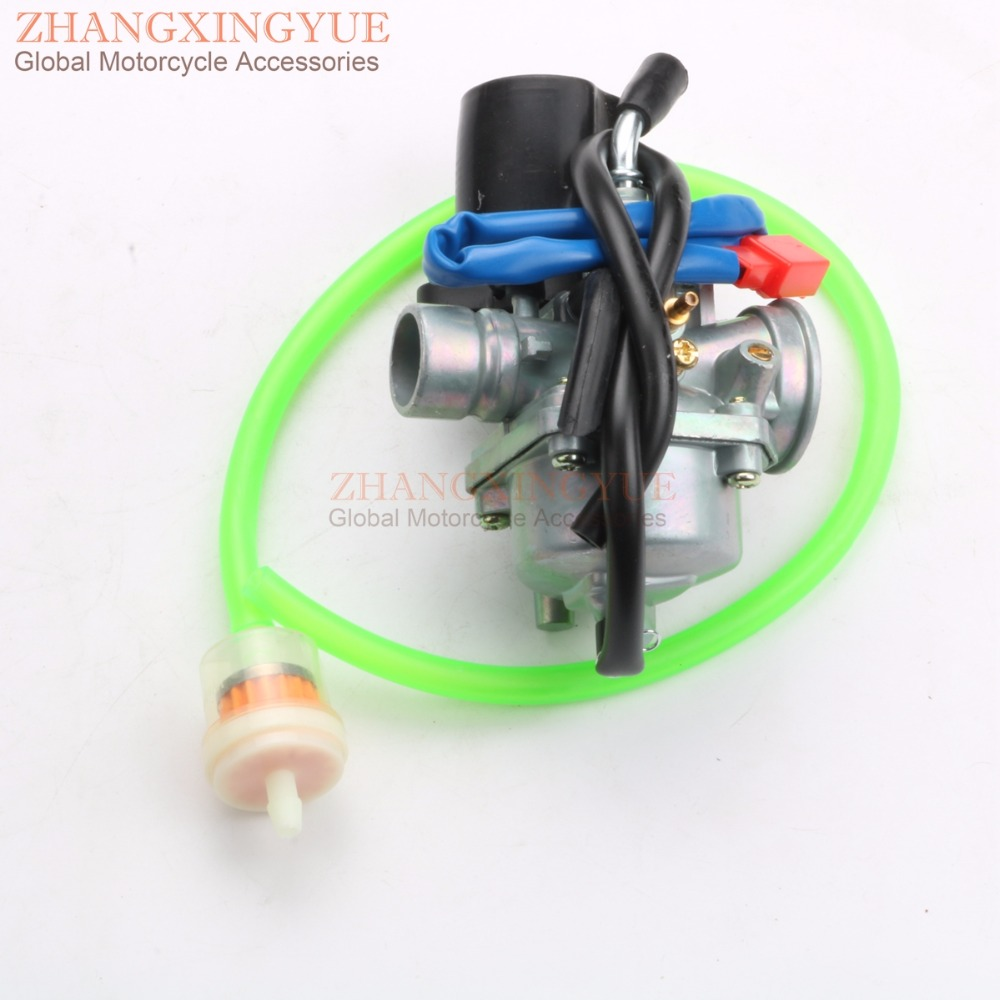 19mm Carburetor Moped Carb for TGB 101R 101S 203 303R Acros Tec Delivery F409 Laser R50X 50 2T