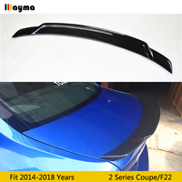 Carbon Fiber rear trunk spoiler For BMW 2 Series 220i M235i M240i 2014 2015 2016 2017 2018 year F22 EXOT style CF spoiler Wing