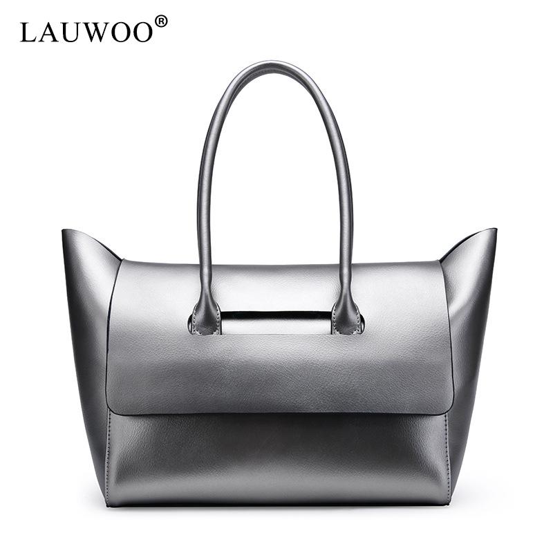 LAUWOO Luxury Brand Genuine Leather Women Bag Luxury Handbag Women Bag Designer Leather Women Shoulder Messenger Bag Casual Tote luxury genuine leather shoulder