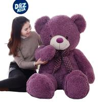 Candy color Large teddy bear doll cuddly toy care bears life size teddy bear Children's birthday present