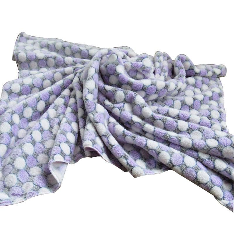 3 tamaño de la manta de perro de lana suave impresión de punto de - Productos animales - foto 4