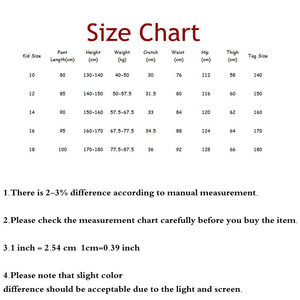 Image 5 - Big Boys Pants Autumn Teenage School Boys Trousers Casual Fat Kids Solid Long Pant Breathable Plus Size Clothes for 8 16 Years
