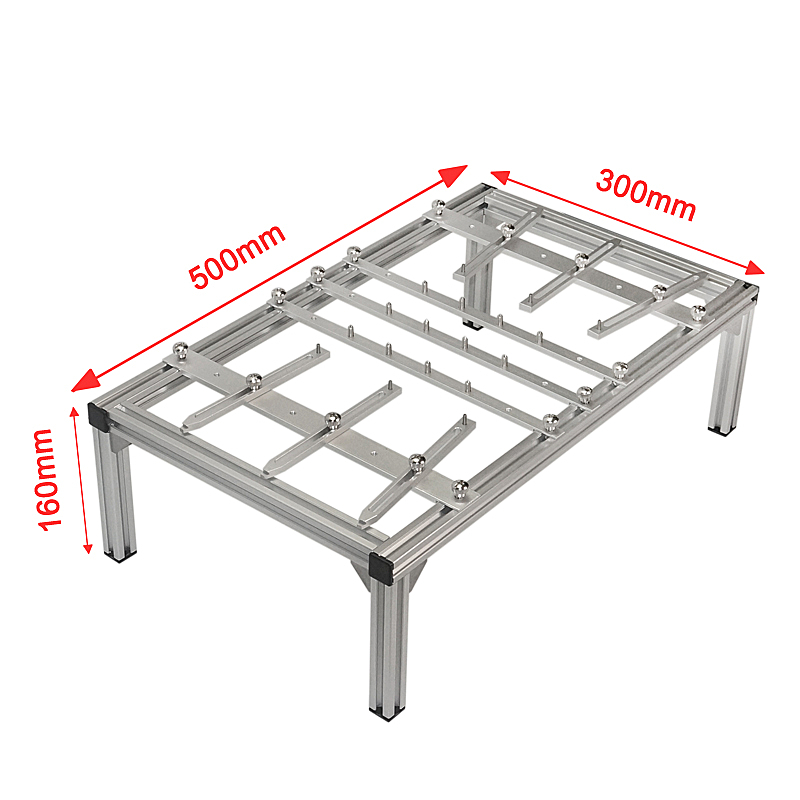 Universal BGA PCB bracket clamp 500x300x160mm PCB holder fixture jig universal bga pcb bracket clamp 500x300x160mm pcb holder luxury fixture jigs for bga rework station