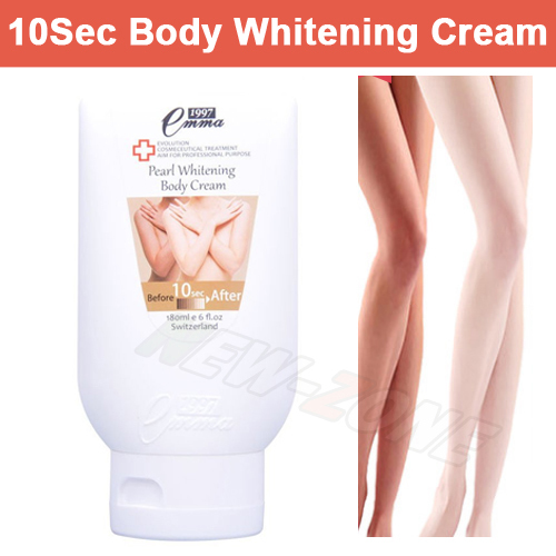 Whitening Body Cream 10 second Instantly whitening Body Lotion Skin Care Moisture for whole body 180ML Free Shipping цена и фото