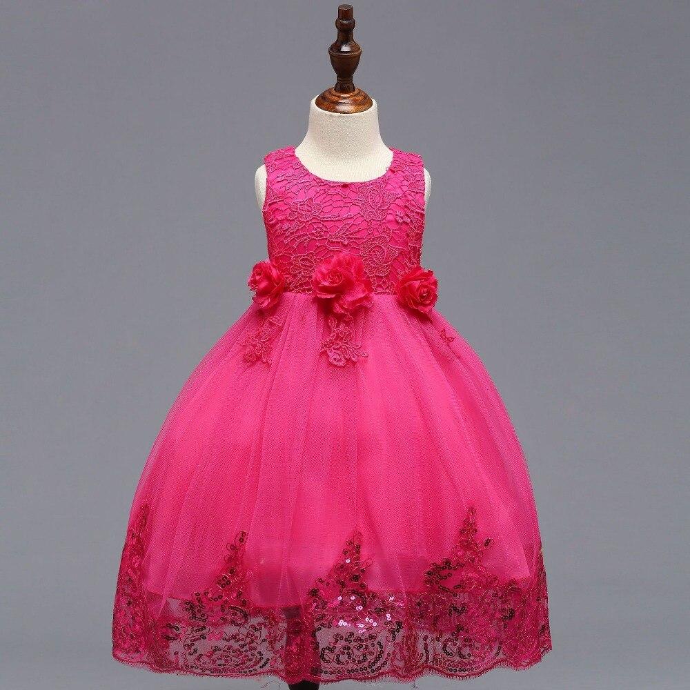 Communion Dress Sequined Ball Gowns Flower Girl Dresses Custom Made ...