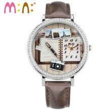 M: N: À La Main D'ARGILE de POLYMÈRE Mini montre de dames Femmes montres robe montre Enfants Montres filles relogio feminino livres