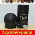 Toppik Hair Building Fibers Starter Set with Spray Applicator, 12g Hair Building Fibers 9 Colors