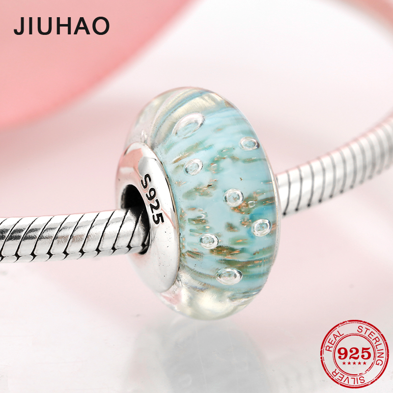 Punctual Couqcy Sparkling Murano Glass Beads Butterfly Charms Fit Original Pandora Bracelet Diy Jewelry Making Women Gifts Beads & Jewelry Making