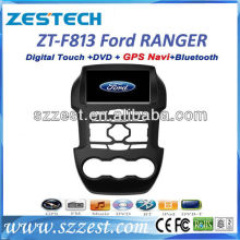 ZESTECH digital touch screen Car GPS for Ford Ranger car dvd player gps navigation system,bluetooth,tv,ipod,usb,wheel control