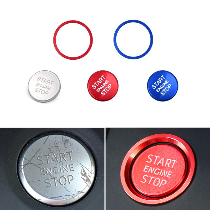 For Ford Explorer 2016 2017 2018 Interior Start Engine Stop Button Switch Cover