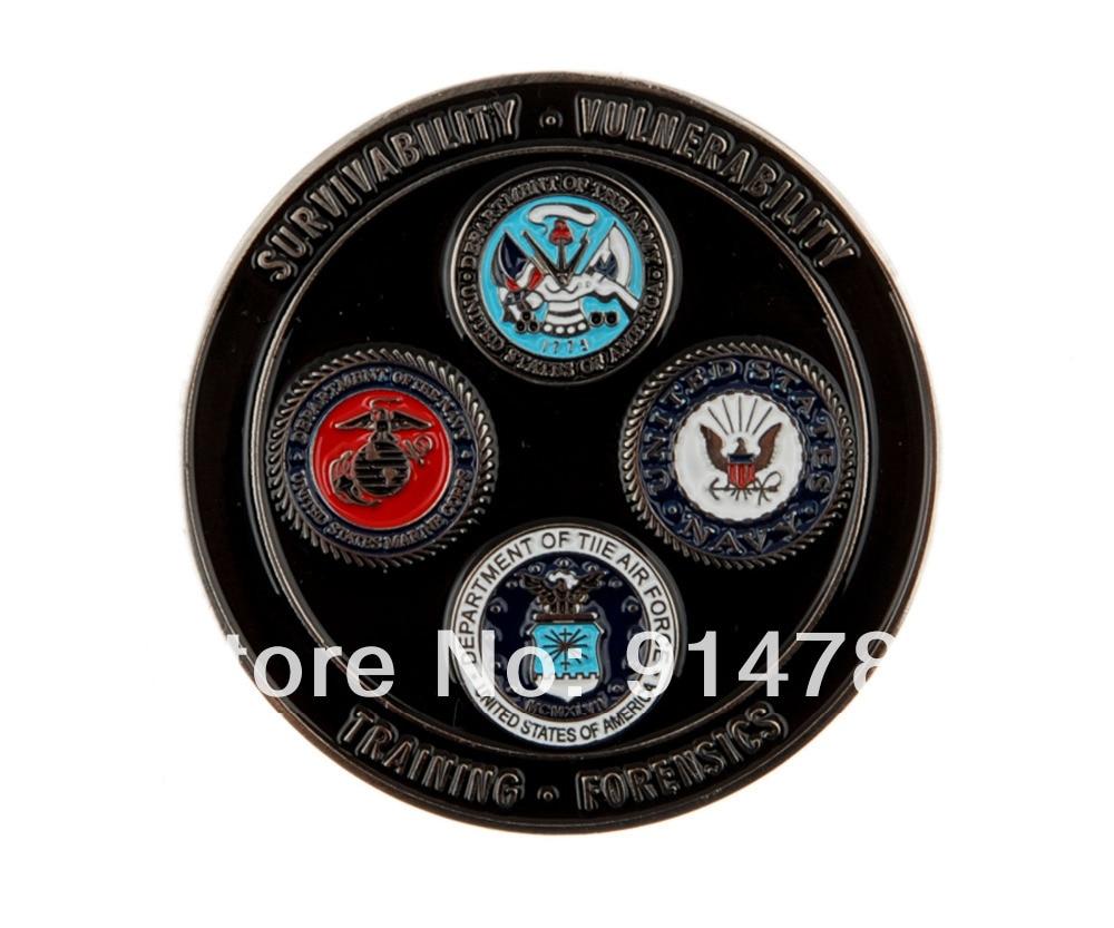 US SURVIVABILITY VULNERABILITY TRAINING FORENSICS JCAT CHALLENGE COIN-34014