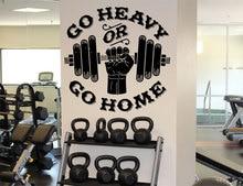 Motivational slogan gym wall stickers removable vinyl customizable slogan fitness dumbbells sports wall stickers 3A15 incentive slogan wall decal