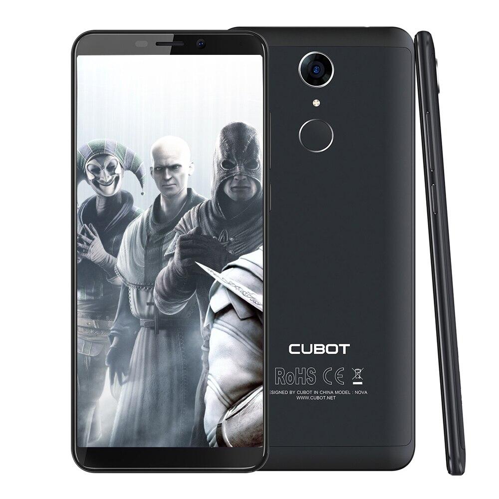 CUBOT Nova 4G Смартфон Android 8,1 Оригинал Phablet 5,5 MTK6739 4 ядра 3 GB Оперативная память 16 Гб Встроенная память 8.0MP + 13.0MP камеры мобильного телефона