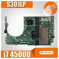 S301LP اللوحة REV2.0 i7 4500U 4G لآسوس Q301LP Q301L S301L اللوحة المحمول S301LP اللوحة S301LP اللوحة اختبار موافق