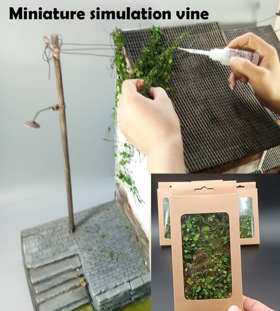 Miniature model vine  Scenario model  Simulated mountain tiger vegetation  DIY Miniature Scene Modification Materials