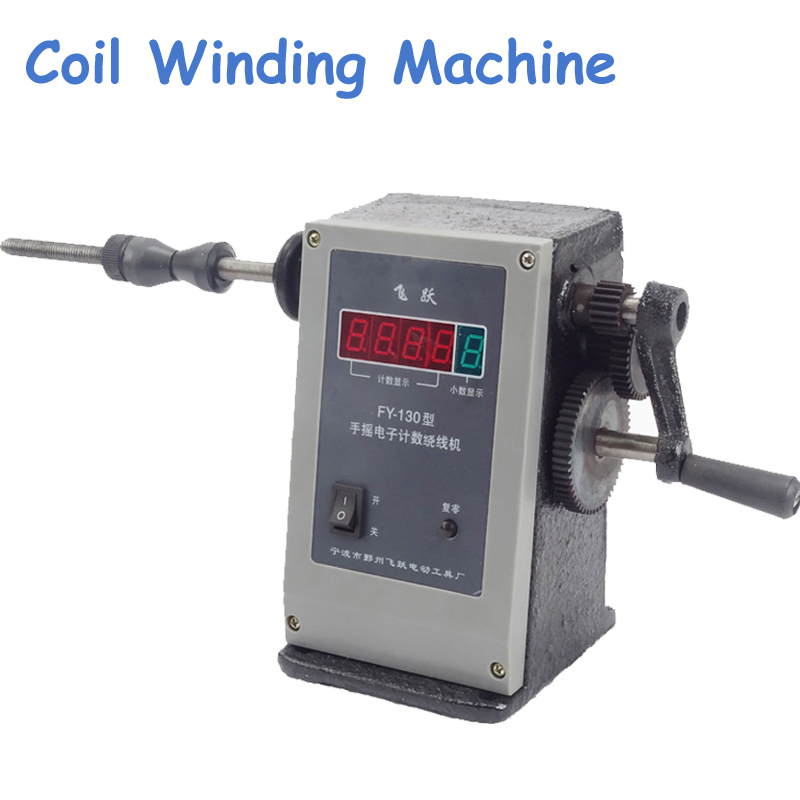 Popular Coil Winder High Quality Hand Coil Winding Machine New Manual Two Speed Winder FY-130 asus m4a78 vm desktop motherboard 780g socket am2 ddr2 sata2 usb2 0 uatx second hand high quality