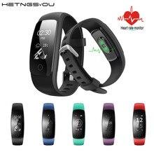 ID107 плюс HR Смарт Браслет Bluetooth4.0 сердечного ритма Мониторы сна Фитнес трекер Мульти Спорт ответ на вызов SmartBand наручные