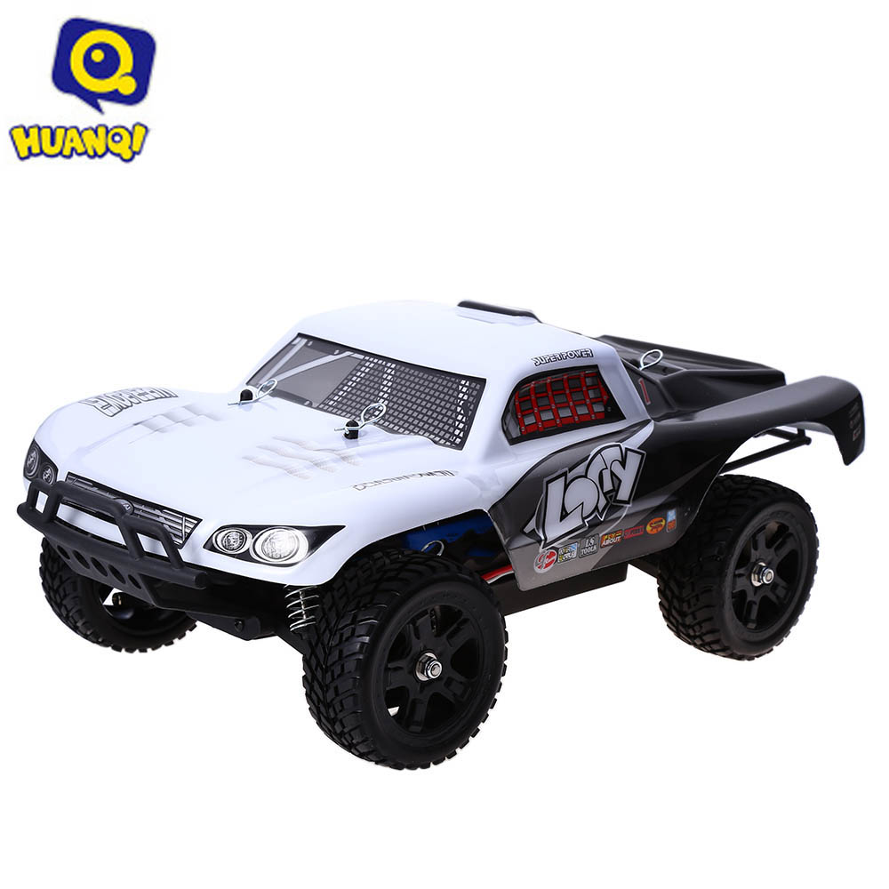 RC Cars Huanqi 734A 2.4GHz 1:16 4WD 30KM/H Remote Control Rally Truck RTR