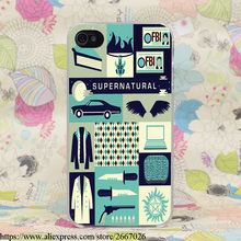 Supernatural Hard Transparent Case for iPhone