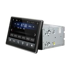 1024 600 Quad Core 2 din 10 1 Android 7 1 2 Universal Car Radio DVD