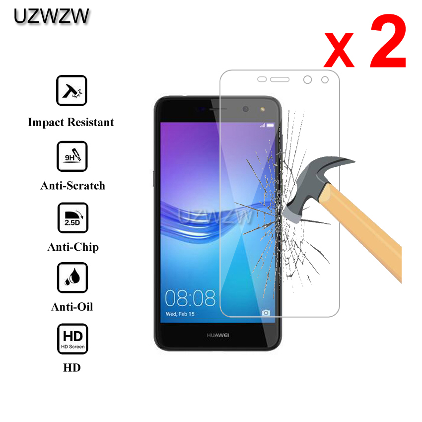 2pcs For <font><b>Huawei</b></font> <font><b>Y6</b></font> <font><b>2017</b></font> Premium 2.5D 0.26mm <font><b>Tempered</b></font> <font><b>Glass</b></font> Screen Protector For <font><b>Huawei</b></font> <font><b>Y6</b></font> <font><b>2017</b></font> Protective <font><b>Glass</b></font> image