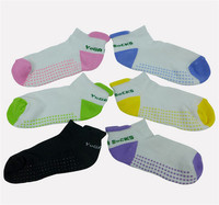 200 pairs Fashion Women Professional Yoga Socks Non Slip Fitness Warm Yoga Gym Dance Sport Socks Exercise