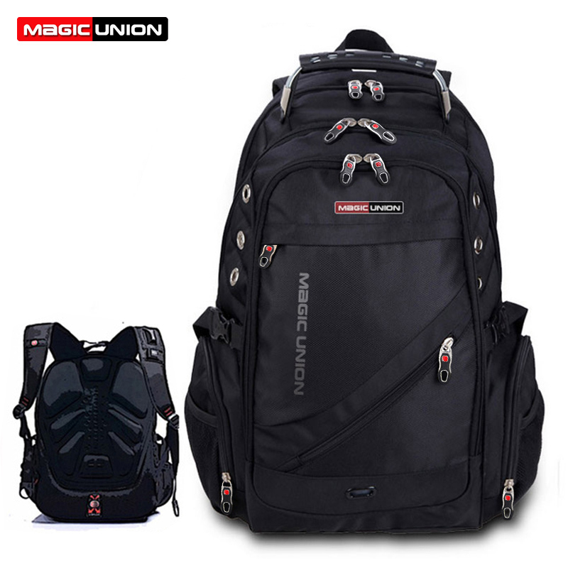 MAGIC UNION Τσάντα ταξιδίου για άνδρες Τσάντες πολυεστέρα για σακίδια ατόμων Αδιάβροχες τσάντες ώμων Τσάντες για υπολογιστές Packsack Design Backpacks