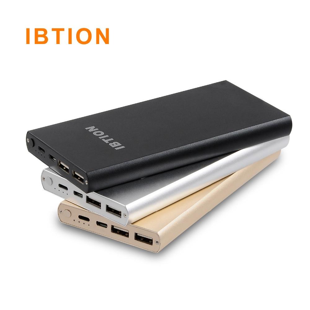 bilder für Neue IBTION 10200 mAh Marke Energienbank Bewegliche Externe Batterie 2A Eingang 2.1A Ausgang Schneller Ladegerät für Handys und Tabletten